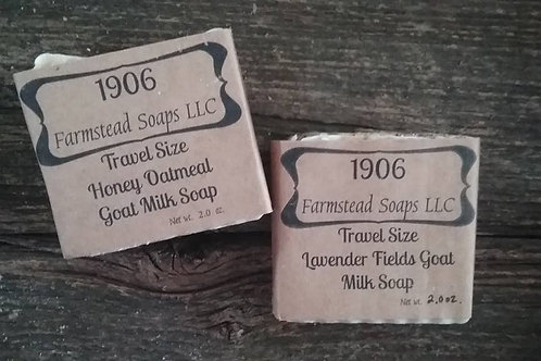 Travel Size Goat Milk Soap