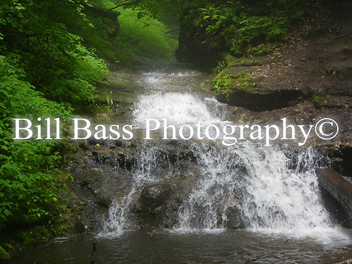 copy of Water Falls At Parfrey's Glen (Landscape)