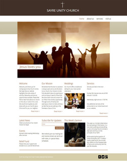 Sayre Church Home Page