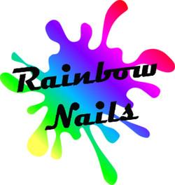 Rainbow Nails Logo