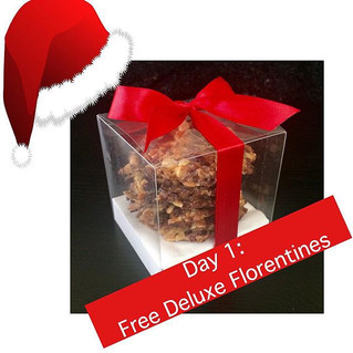 Day 1: Unwrap your gift from The Chocolate Spoon....