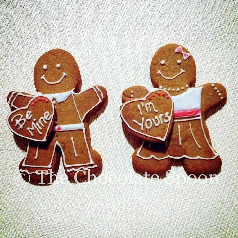 The Chocolate Spoon His 'n' Hers Personalised Gingerbread
