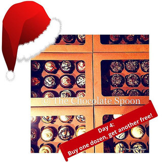 Day 4: Unwrap your gift from The Chocolate Spoon