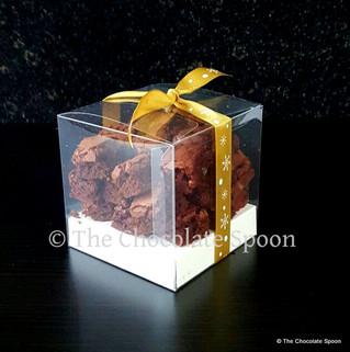 Fancy some Belgian chocolate vegan brownies?
