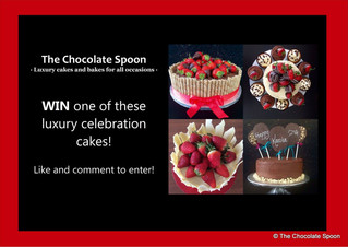 There's still time to win a luxury celebration cake!