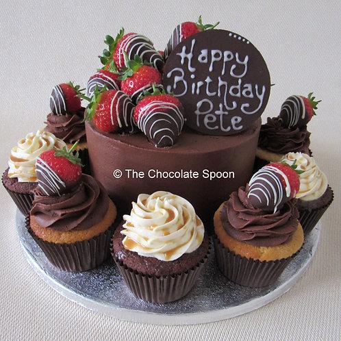 Cupcake Surround Cake