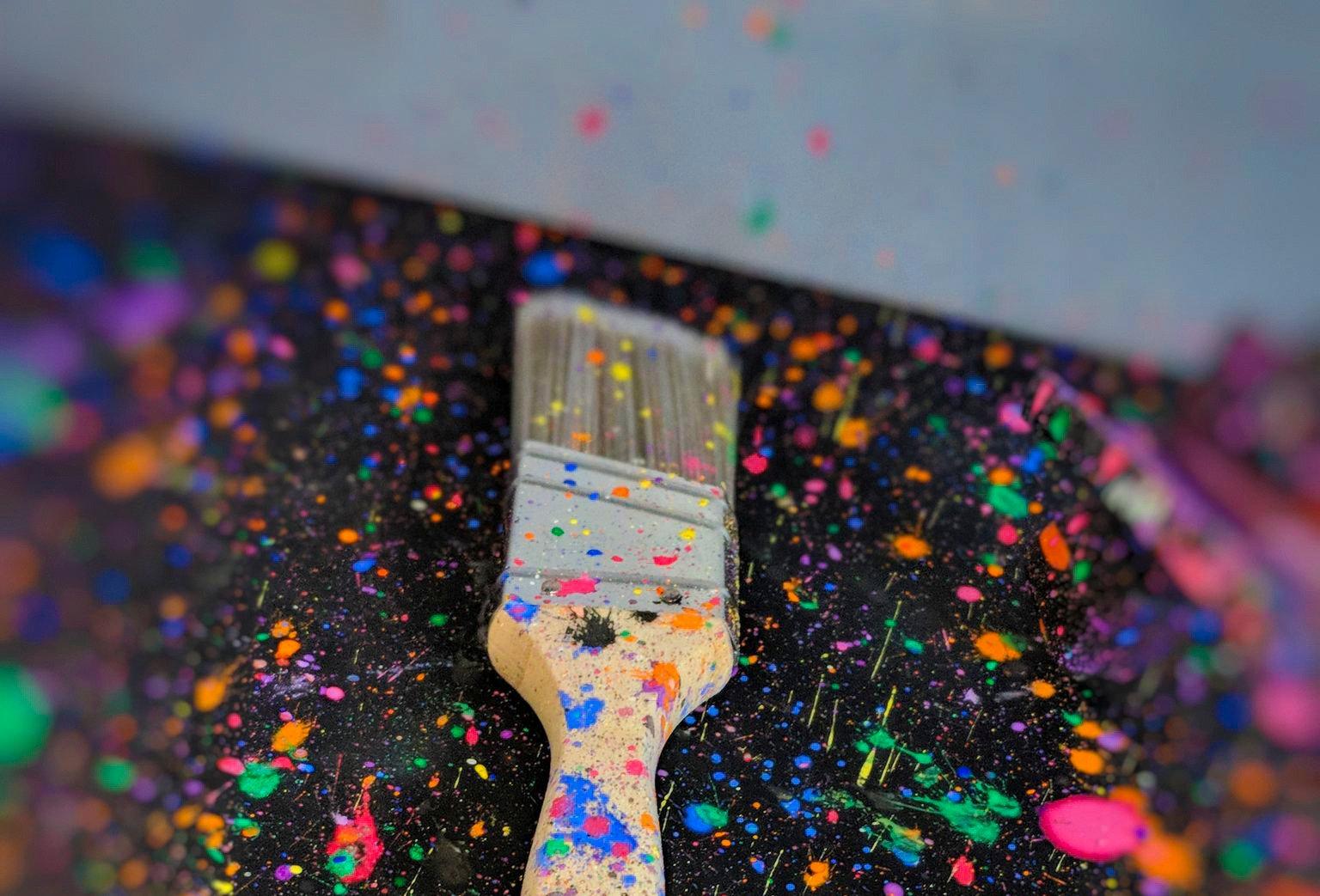 Splatter Paint Grand Opening