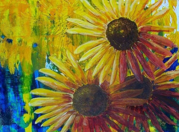 Sunflower Paint and Sip
