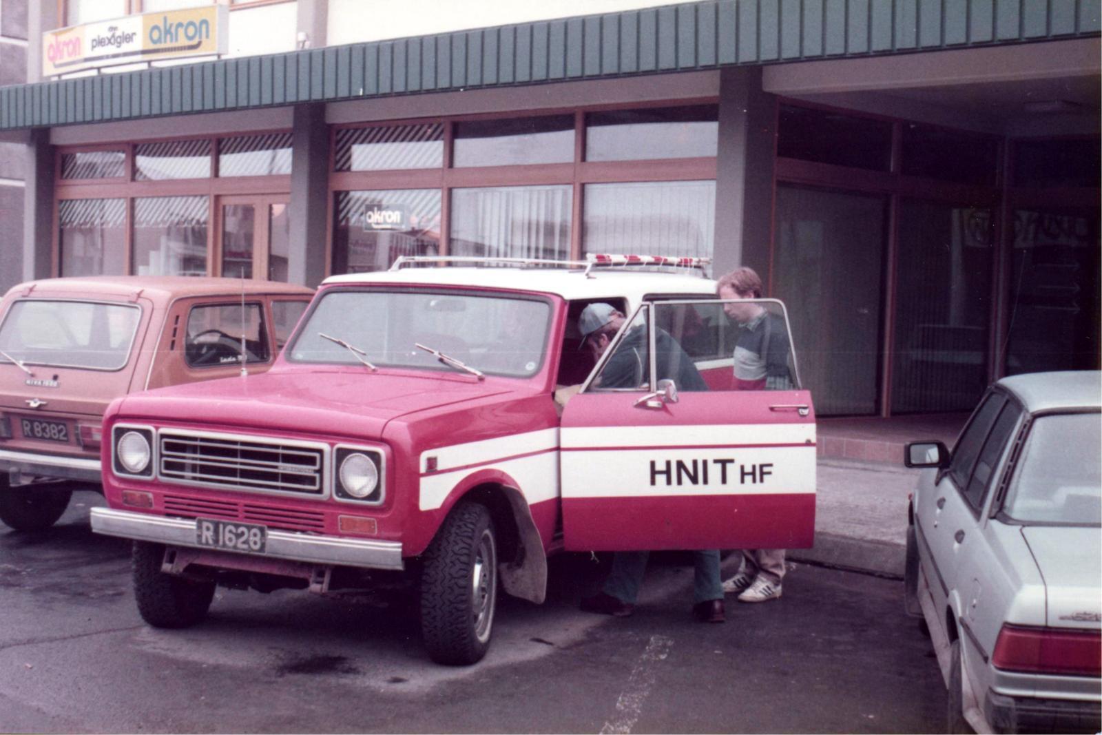 Bílakostur Hnits kringum 1980