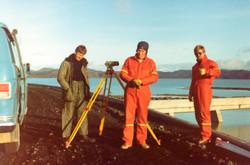 Jón Þór, Bjarni og Helgi