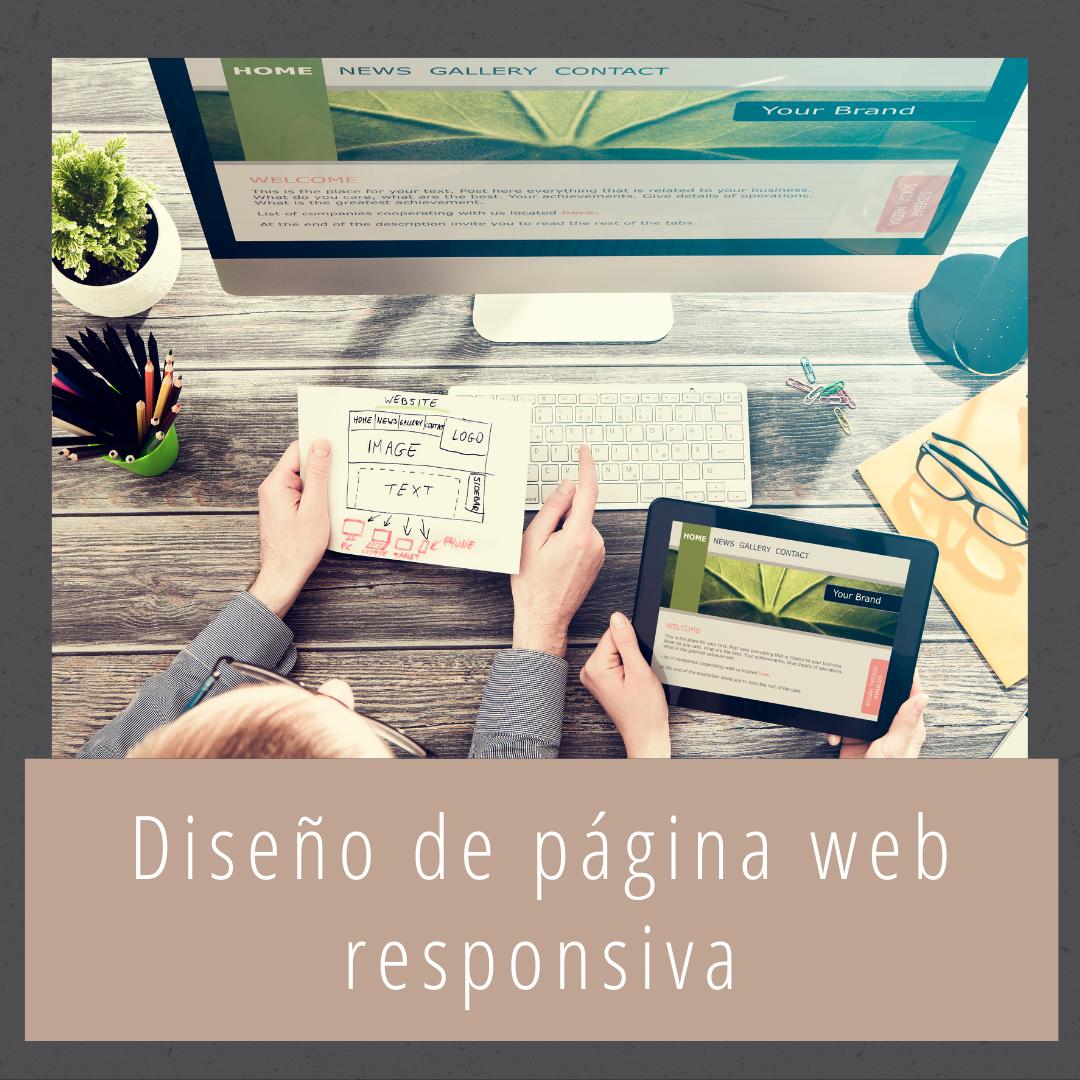 Diseño de página web responsiva