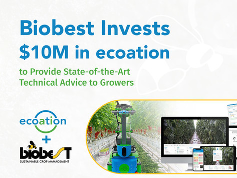 ecoation raises $22.5M to Support Global Commercial roll-out