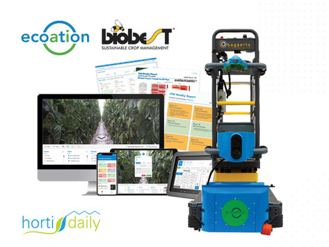 AI and robotics will bring us to the Olympic version of IPM on The HortiDaily
