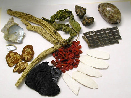 Chinese herbs 'better than drugs at relieving menstrual tension'.