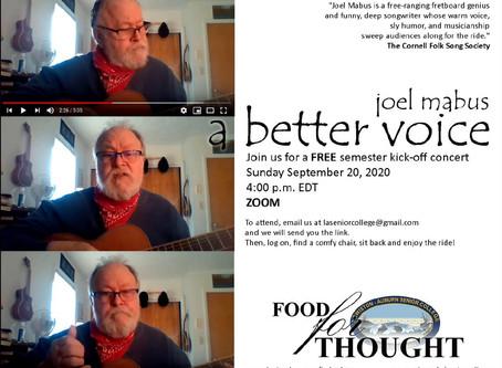 Joel Mabus - A Better Voice