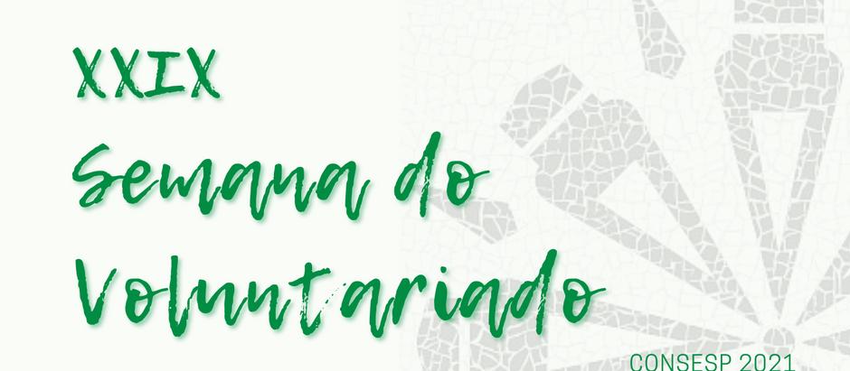 Eventos da XXXII Semana do Voluntariado Paranaense 2021
