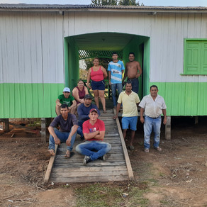 Prefeitura de Capixaba realiza reforma em escola no seringal Castanheira
