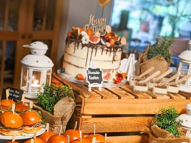 Grazing Table zum Geburtstag