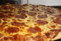 Craze Cafe fresh made pizza