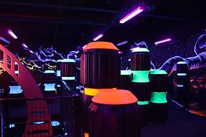 Xtreme Craze laser tag arena