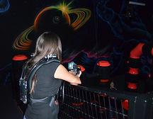 Xtreme Craze laser tag action