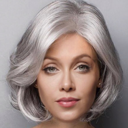 Platinum Gray Wig