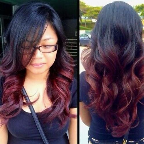 Burgundy Bombshell Wig