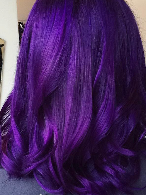 Purple Royalty Wig