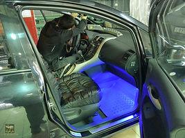 Установка подсветки в автомобиль бронирование тонировка цена прайс омск