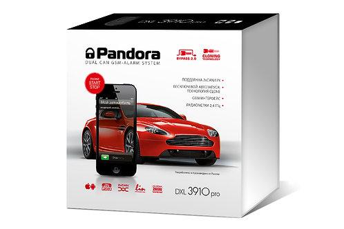 Pandora DXL 3910 PRO сигнализация с автозапуском
