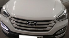 Ремонтируем штатные дневные ходовые огни (ДХО) Hyundai Santa Fe