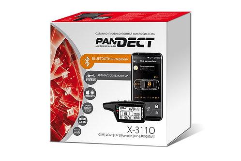 Pandect X-3110 микросигнализация с автозапуском