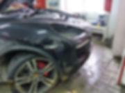 Porsche Cayenne устанавливаем ксенон