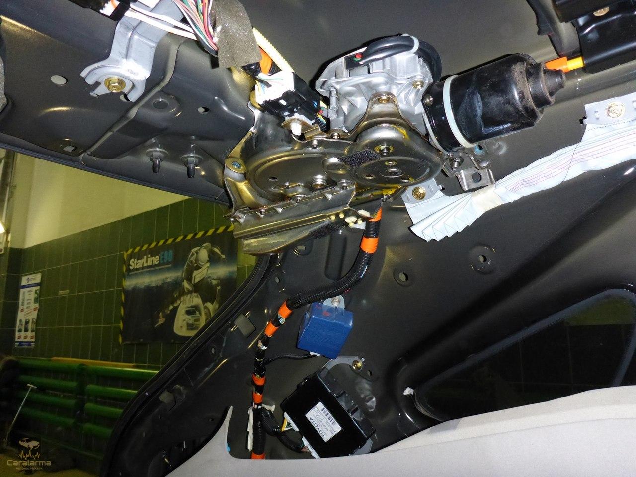Ремонт привода отпирания багажника