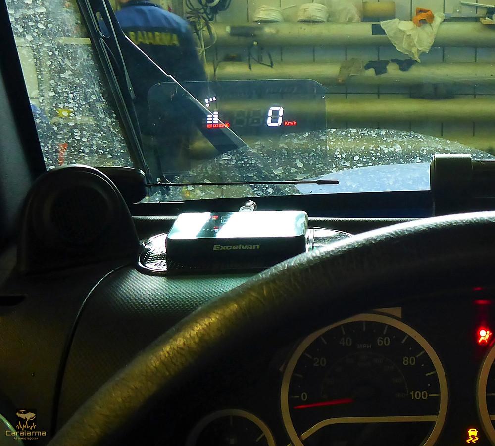 Jeep Wrangler панель приборов