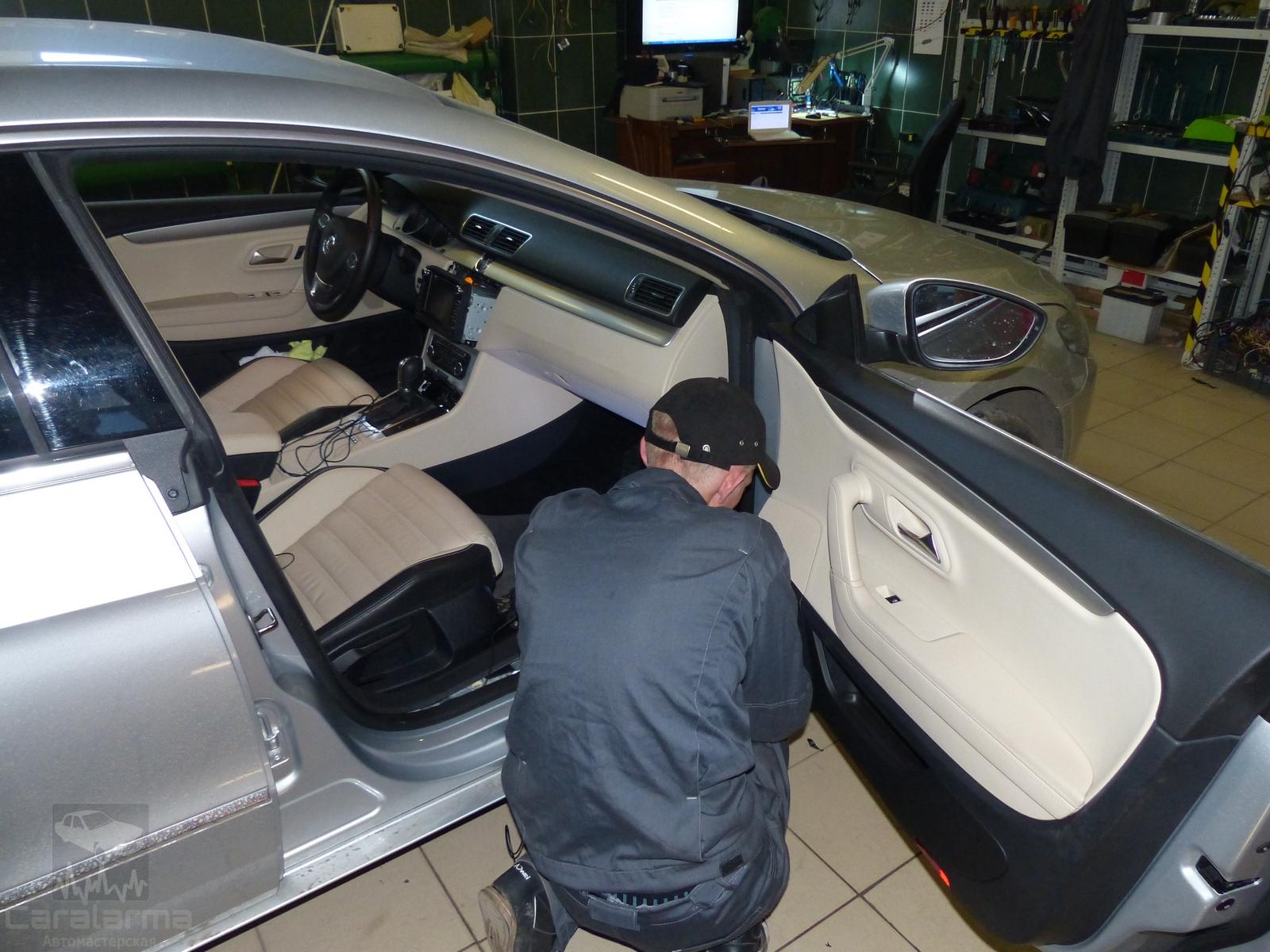 Адаптация камеры заднего вида VW