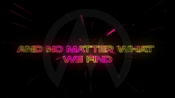 Neon Text (Lyric Video)