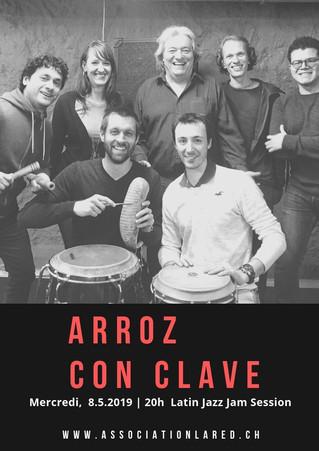 Jam Session: Arroz con Clave - 8 mai 2019