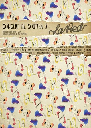 Concert de soutien à La Red - Jeudi 16 mai 2019