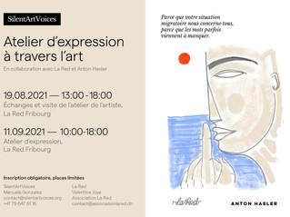 SilentArtVoices - Atelier d'expression à travers l'art