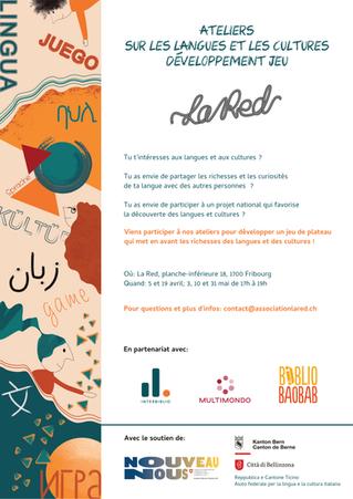 Projet participatif « Jeu des mille et une langues » 2021