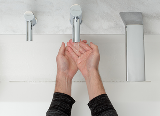 More clean hands, fewer GHGs