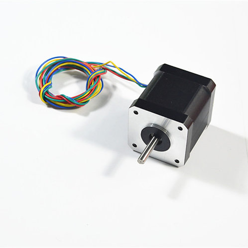 0.9 step angle NEMA17 34mm long stepper motor