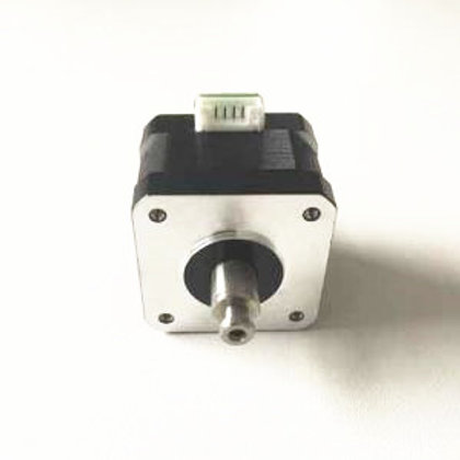 Hollow shaft nema 17 stepper 34mm long 1.5A 0.26Nm for robotics