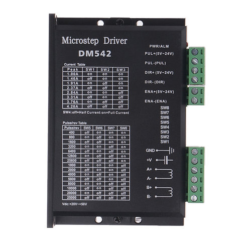 DM542 stepper motor driver 50VDC 4.2A