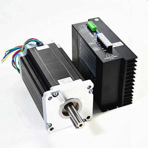 High torque 29Nm NEMA 42 stepper motor & 8.2A AC stepper motor driver