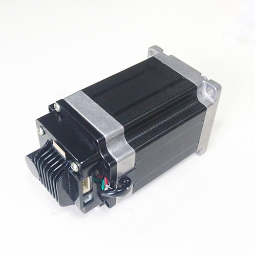 Integrated NEMA 23 56mm stepper motor with motor driver