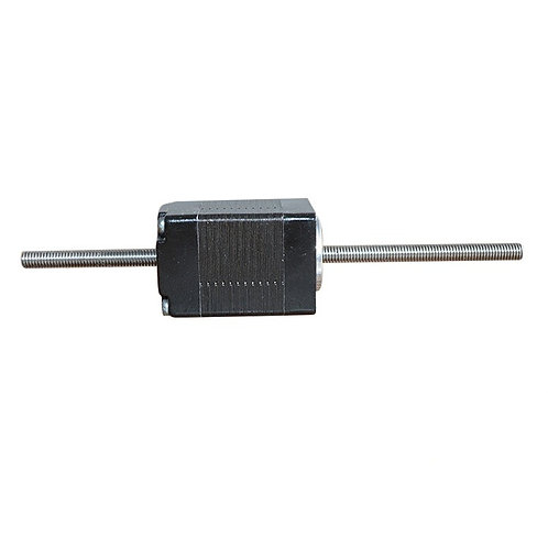 Nema 8 non captive stepper motor with 100mm length lead screw