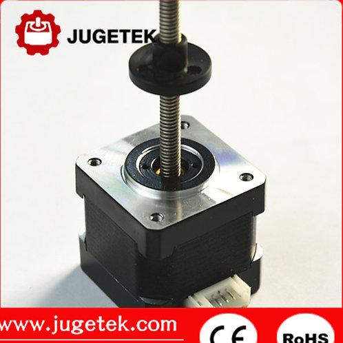 Nema 14 linear stepper motor 300mm length Tr5*2 lead screw
