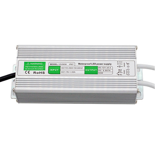 IP67 waterproof 12V 10W power supply